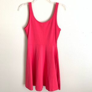 Express pink sleeveless dress